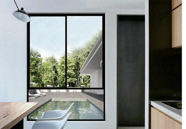铝合金门窗的安装流程