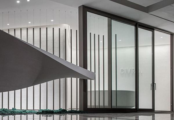 断桥铝合金门窗的组成结构
